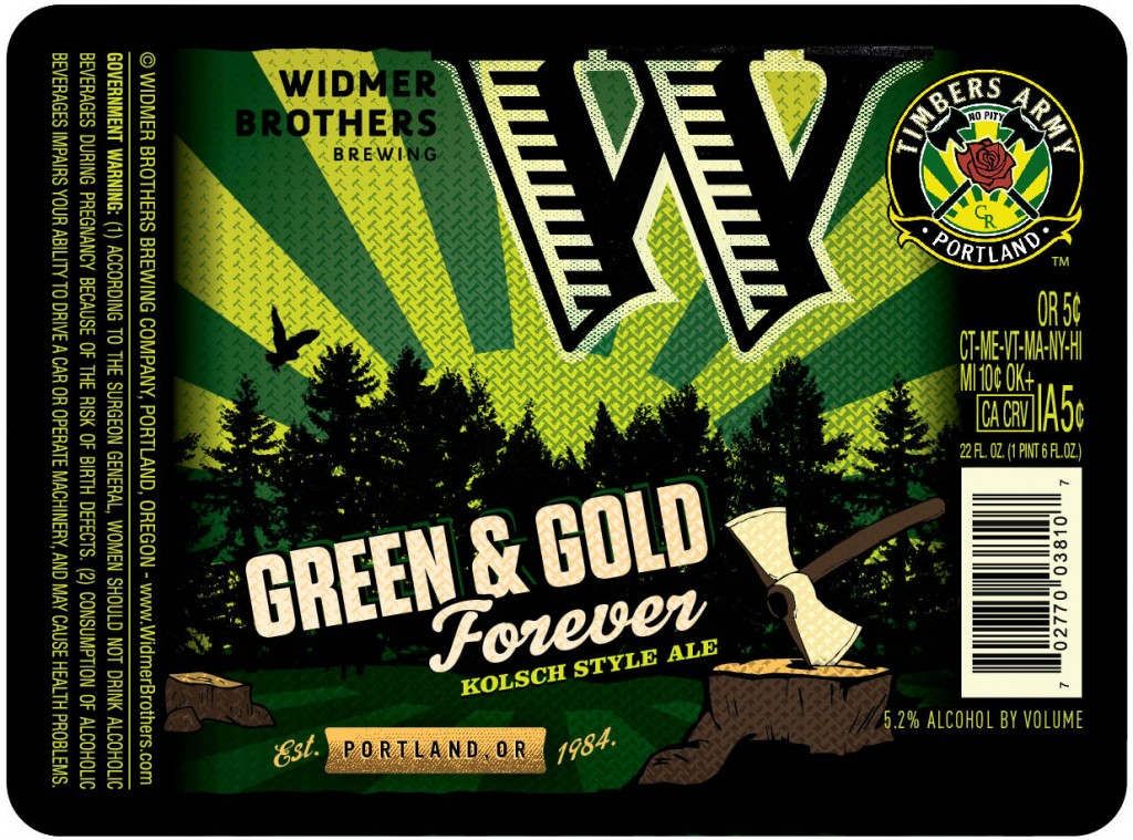 Widmer Green & Gold Forever