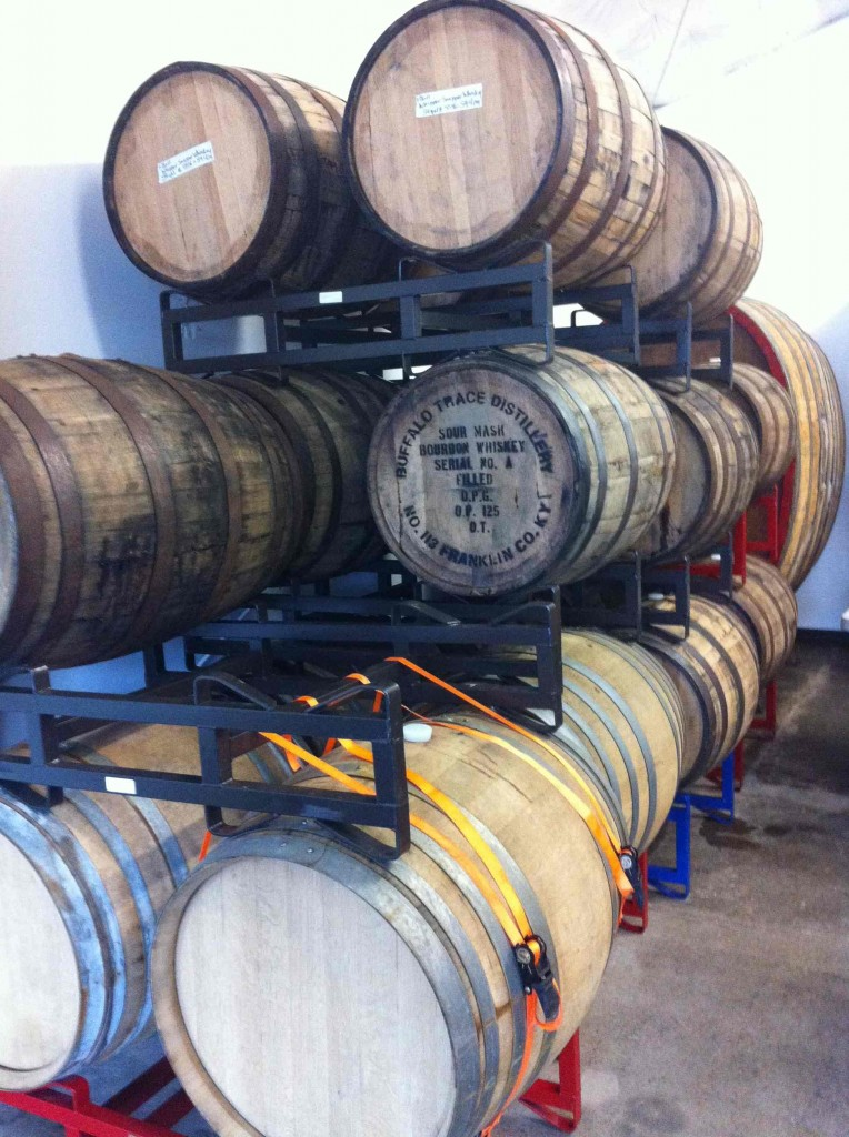 Barrel Aging at Gigantic Brewing