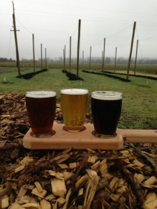 Beers from Agrarian Ales of Eugene, OR