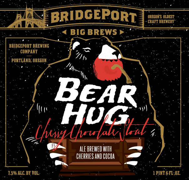 BridgePort Brewing Bear Hug Cherry Chocolate Stout