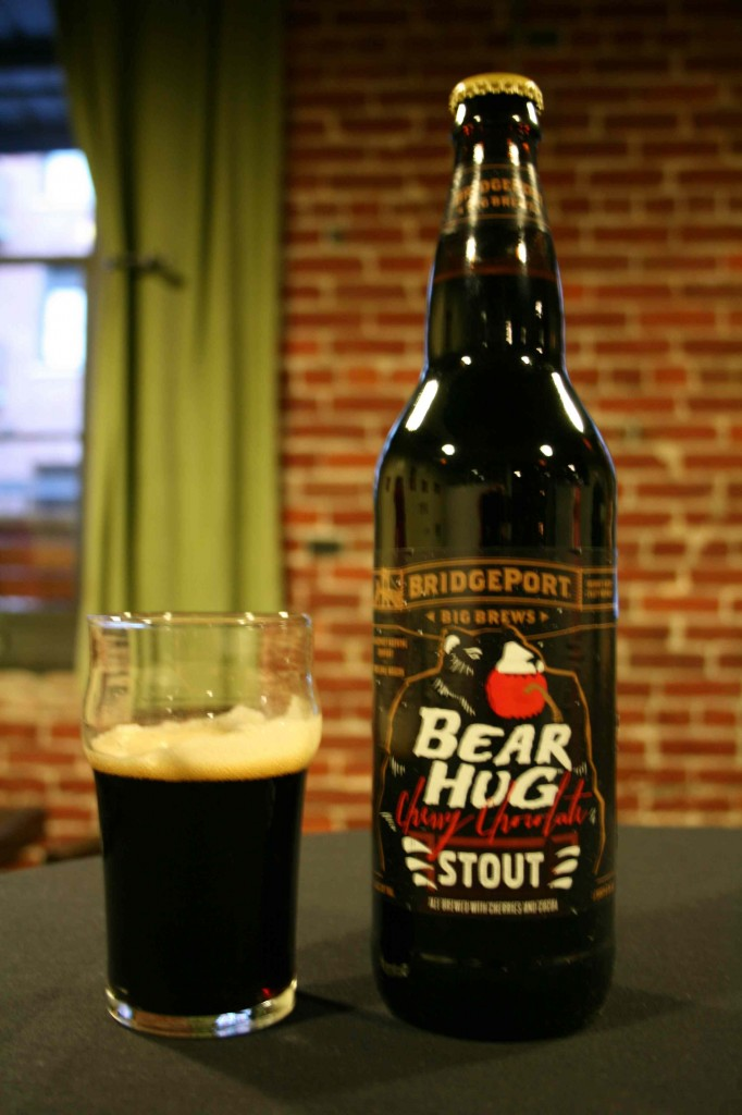 BridgePort's Bear Hug Cherry Chocolate Stout