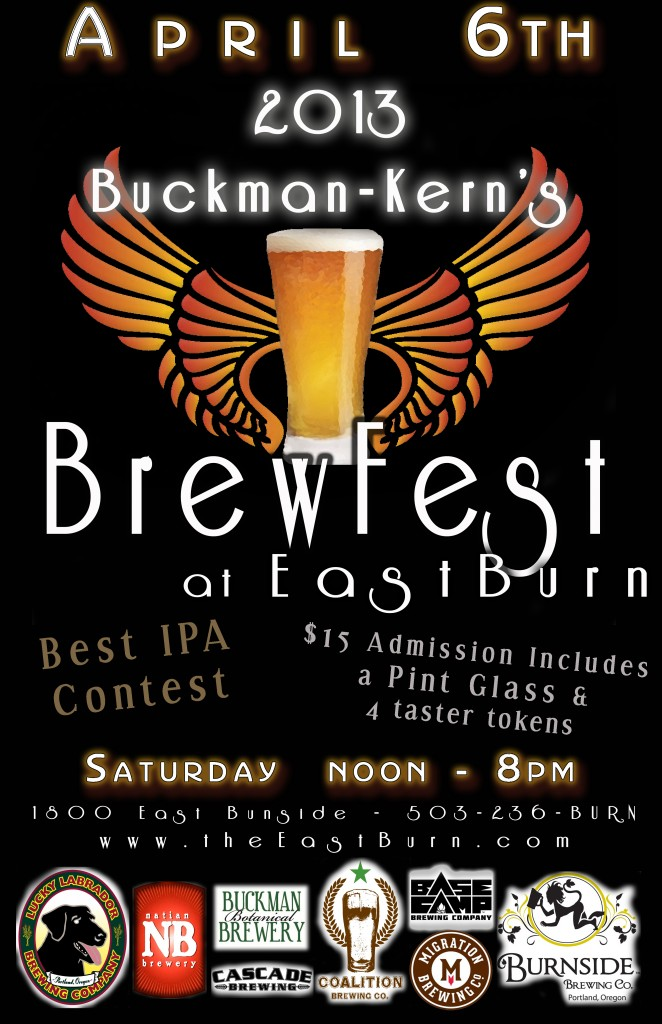 2013 Buckman-Kern's Brewfest at EastBurn