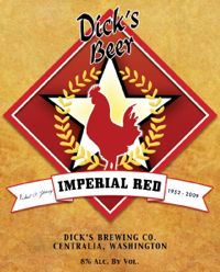 Dick's Brewing Imperial Red Ale