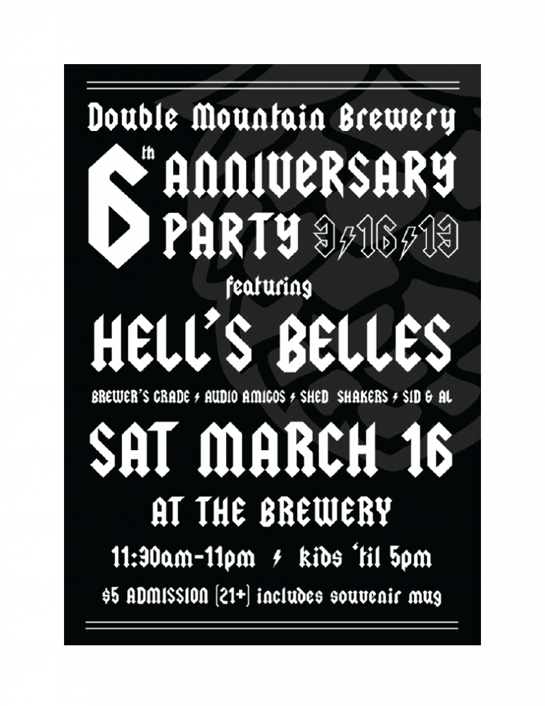 Double Mountain 6th Anniversary Party