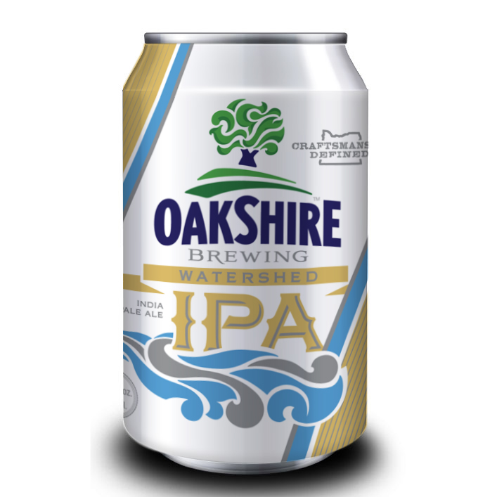 Oakshire Watershed IPA Can
