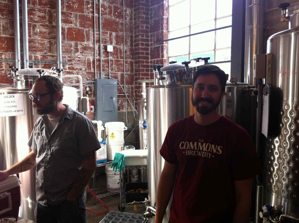 Mike Wright & Sean Burke at The Commons Brewery