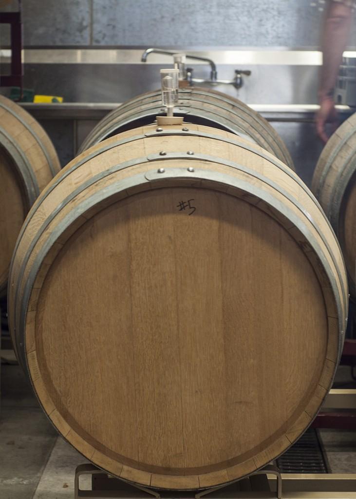 Barrel at Sante Adairius