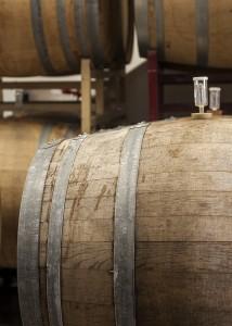 Barrel-aging at Sante Adairius