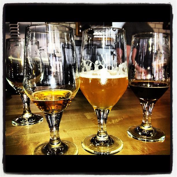 Beers at Cervezeria de Mateveza