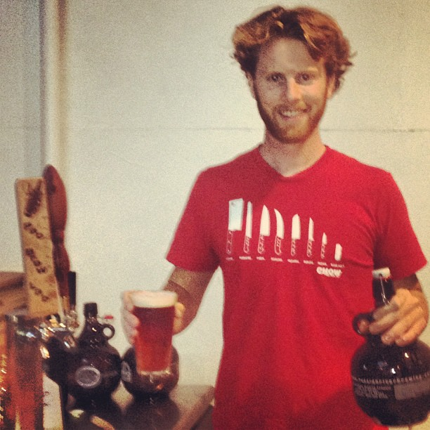 Bryan Hermannsson of Pacific Brewing Laboratory