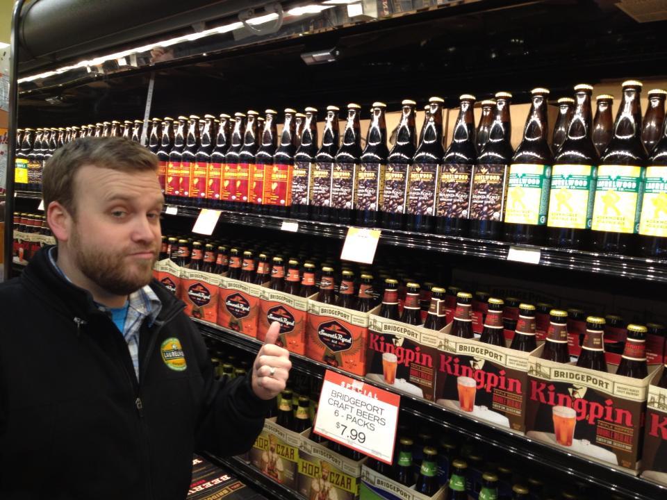 Micah Bell of Laurelwood Brewing