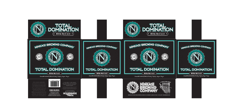 Ninkasi Total Domination IPA 12-packs