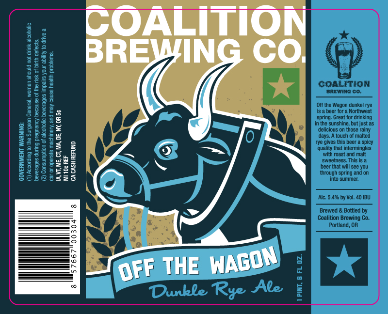 Coalition Off the Wagon Dunkle Rye