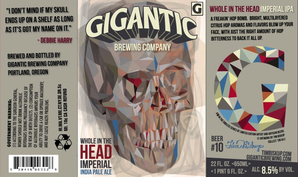 Gigantic Hole In The Head Imperial Pale Ale
