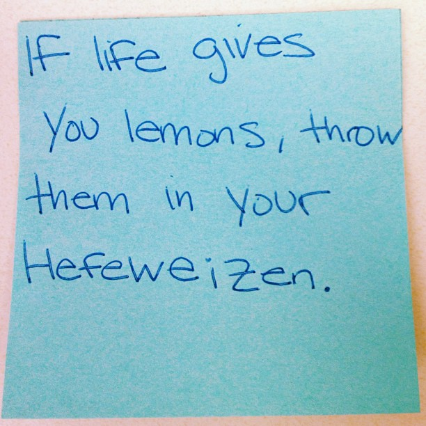 If life throws you lemons...