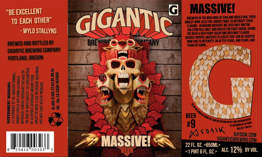"Gigantic Brewing ""Massive!"""