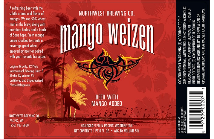 Northwest Brewing Mangoweizen
