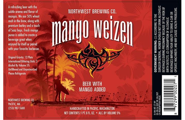 Northwest Brewing Mangoweizen