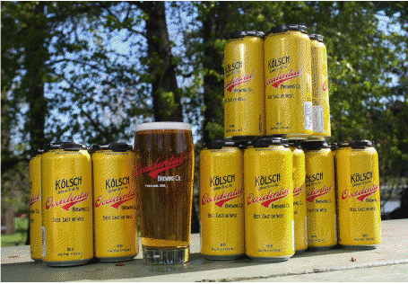 Occidental Brewing in cans