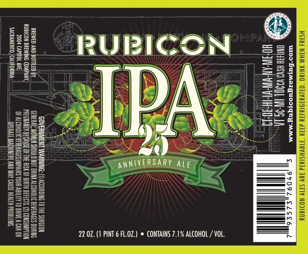Rubicon 25 Anniversary IPA