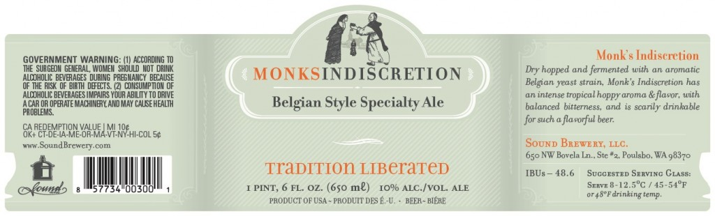 Sound Brewery Monk's Indescretion
