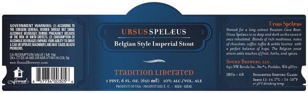 Sound Brewery Ursus Spelaeus