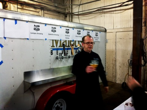 Wallace Working the Maletis Beverage Truck