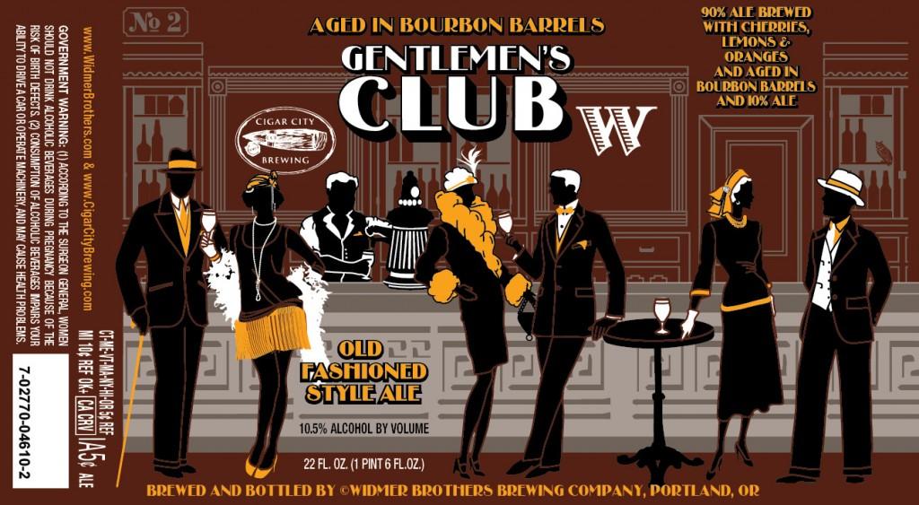 Widmer Brothers & Cigar City Gentlemen's Club on Bourbon Barrels