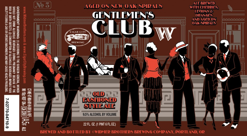 Widmer Brothers & Cigar City Gentlemen's Club on New Oak Spirals