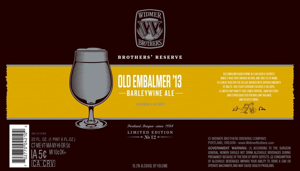 Widmer Old Embalmer '13