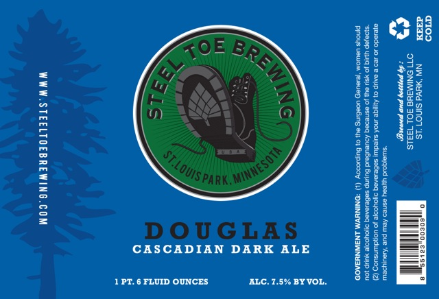 Steel Toe Brewing Douglas Cascadian Dark Ale