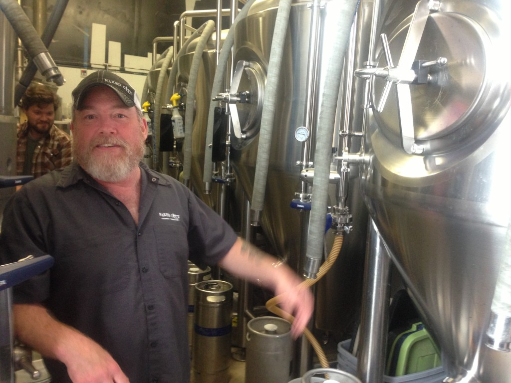 Naked City Brewmaster & Owner Don Webb
