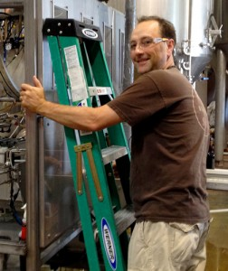 Duclaw Brewing's Jim Wagner (photo by All About Beer Magazine)