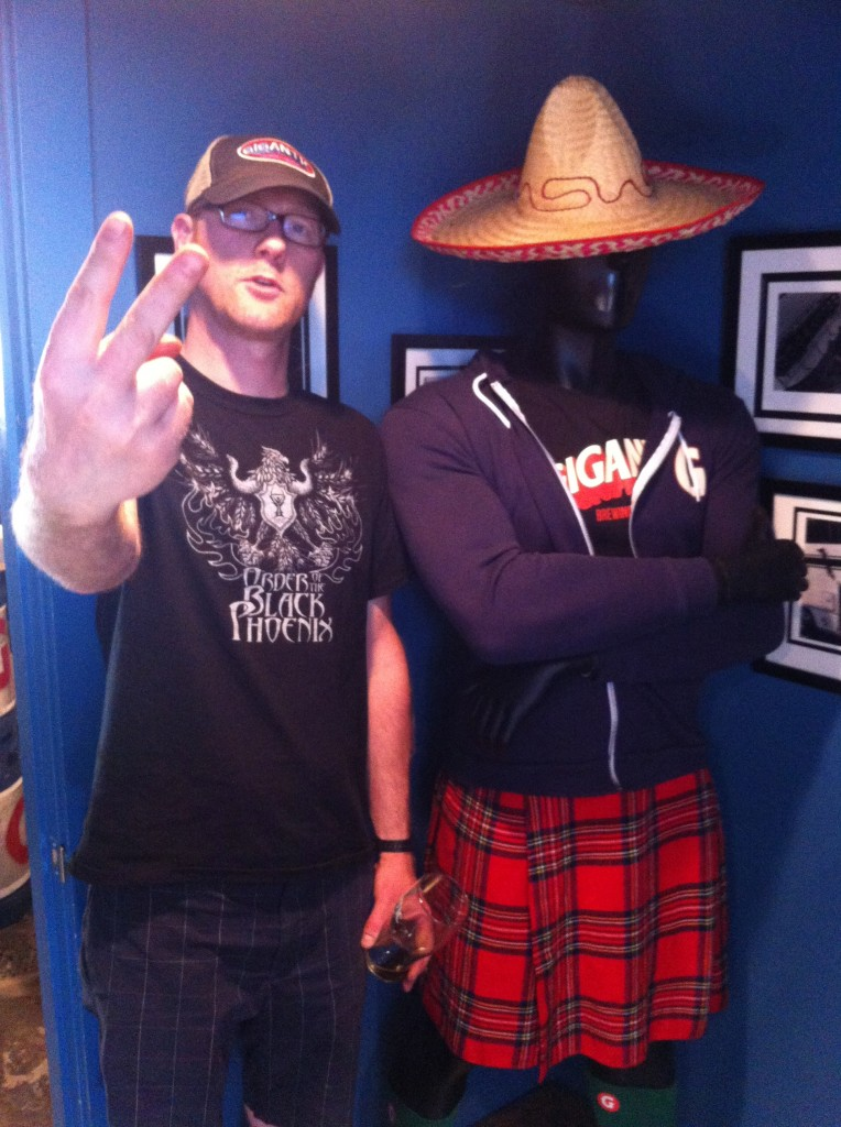Van (on the left) Wearing his Order of What? T-Shirt