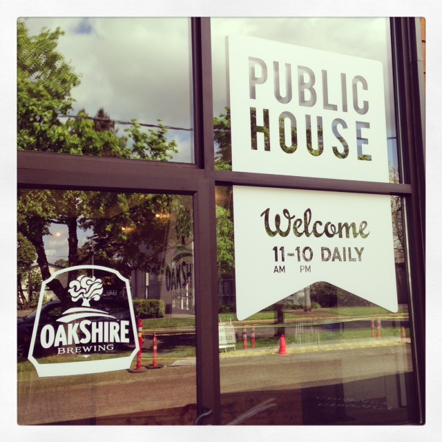Oakshire Public House Sign