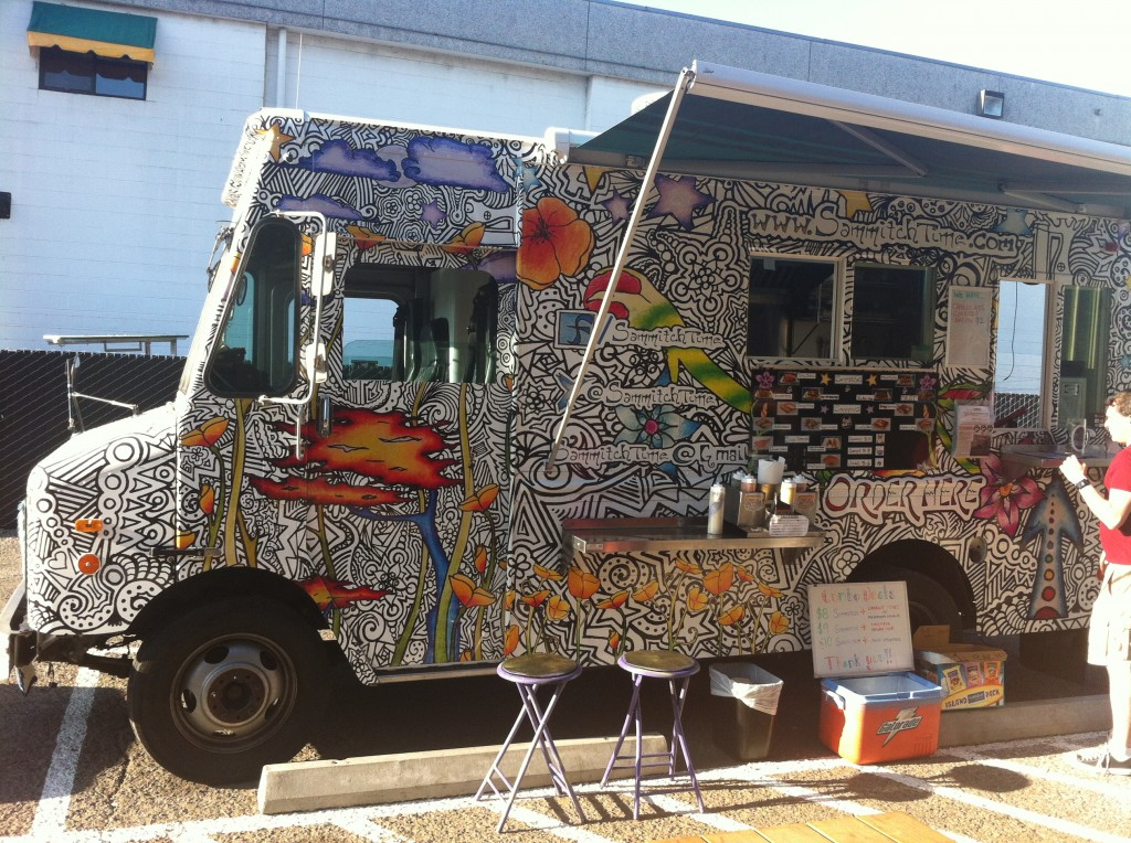 Sammitch Time Food Truck at Oakshire Public House