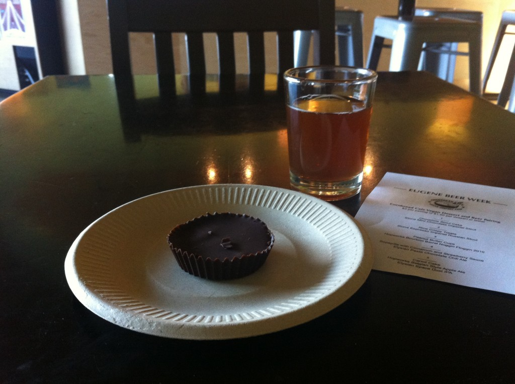 Vegan Dessert & Beer Pairings at 16 Tons Cafe