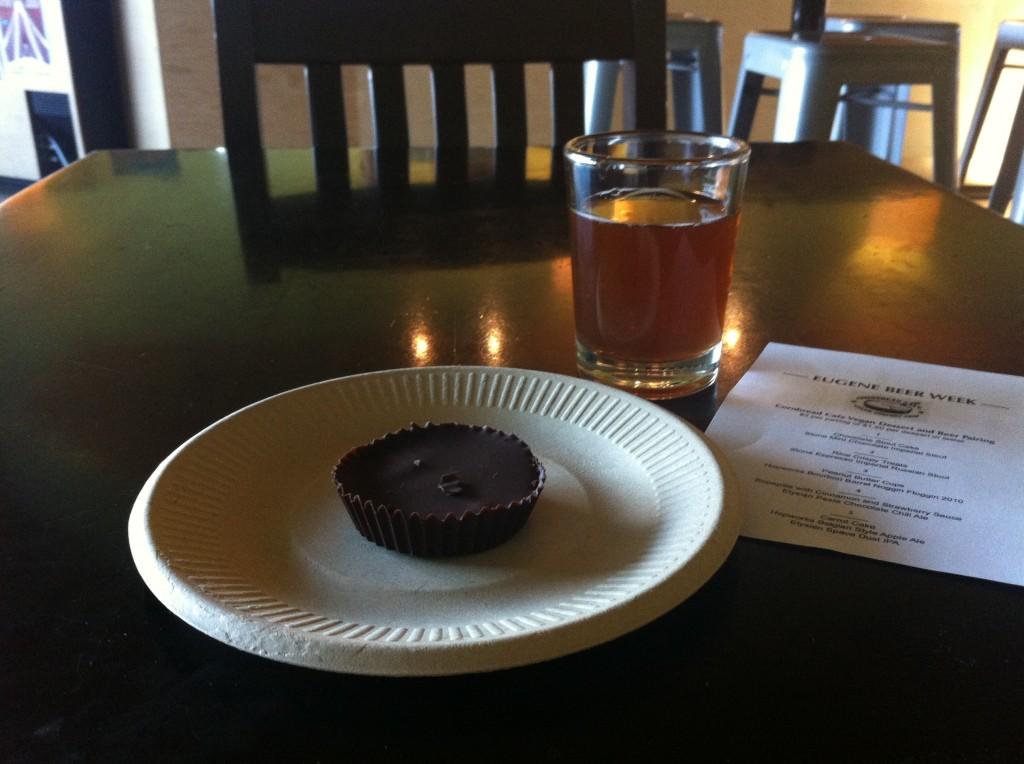 Vegan Dessert & Beer Pairings at 16 Tons Cafe
