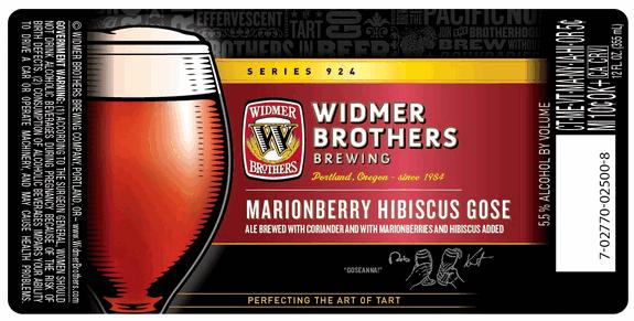 Widmer Marionberry Hibiscus Gose