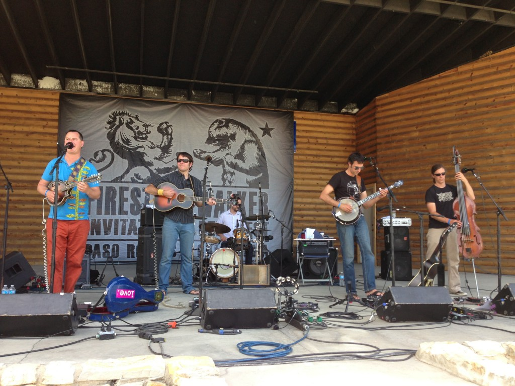 Live music from Hot Buttered Rum at FWIBF 2013