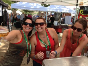These ladies from Alpine Brewing were serving up some righteous brews at FWIBF