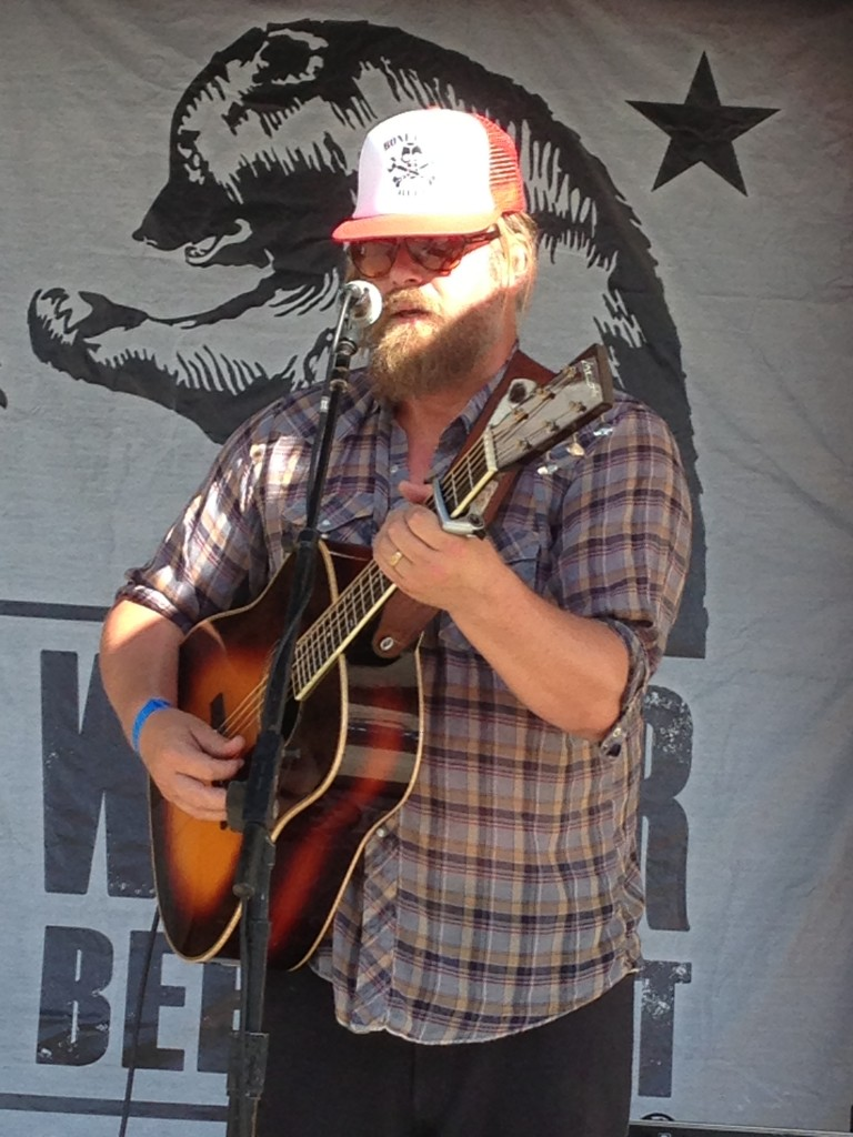 The White Buffalo lead man Jake Smith playing live at FWIBF '13