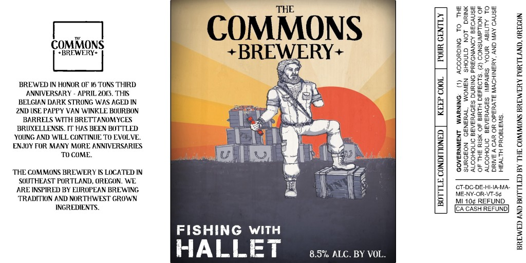 "The Commons Brewery ""Fishing with Hallet"""