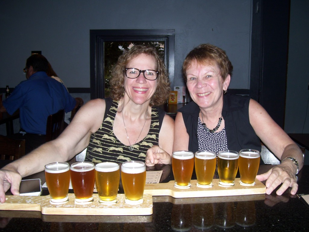 Girls Night Out at Wormtown Brewing in Worcester, MA