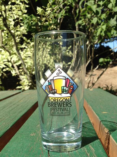 2013 OBF Tasting Glass