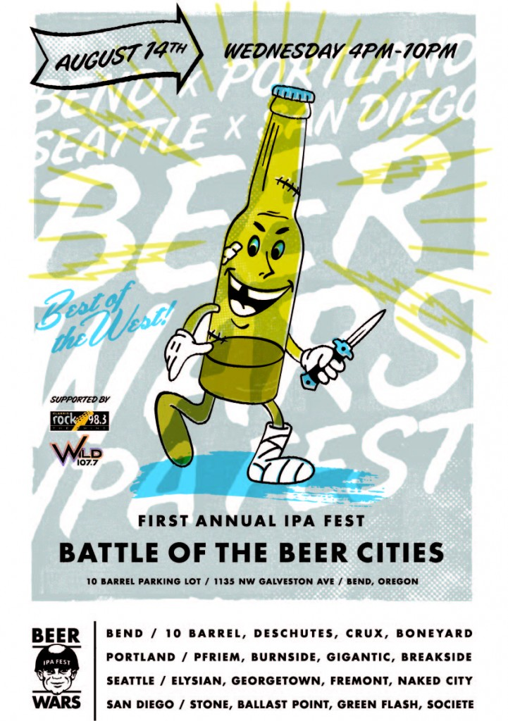 BEERWARS: Battle of the Beer Cities