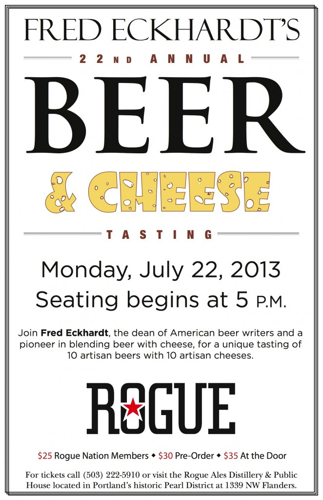 Fred Eckhardt's Beer & Cheese Event