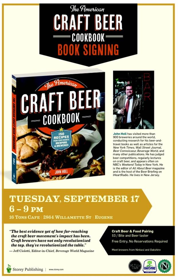 The American Craft Beer Cookbook – Book Signing