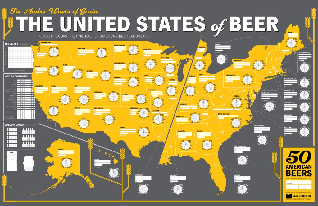 Beers Across America Map