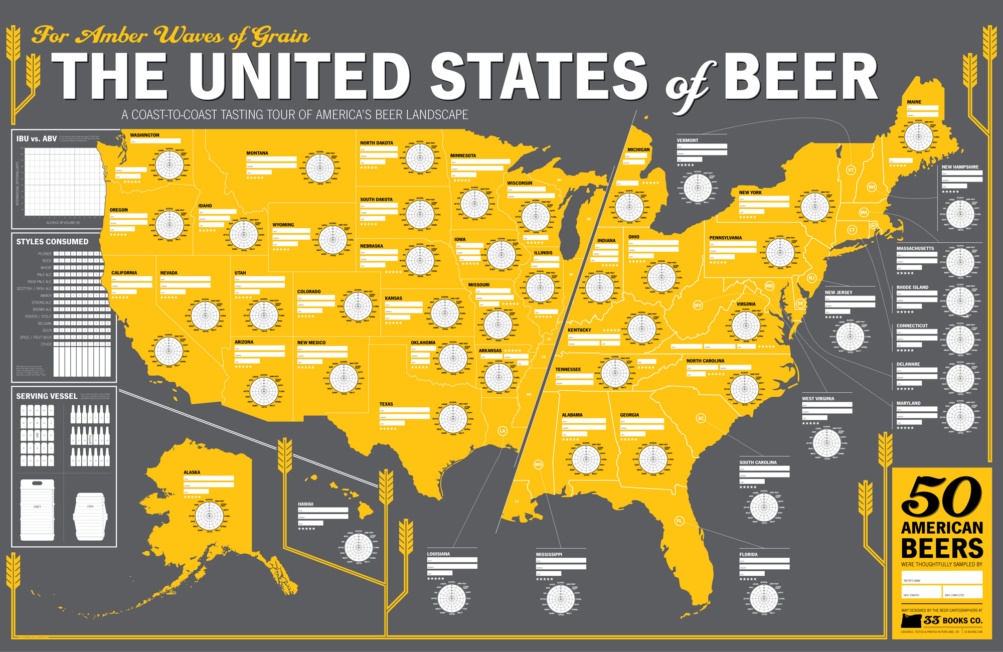 The United States of Beer: A Tasting Map